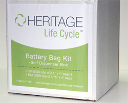Battery Bag Kit for Terminal Protection