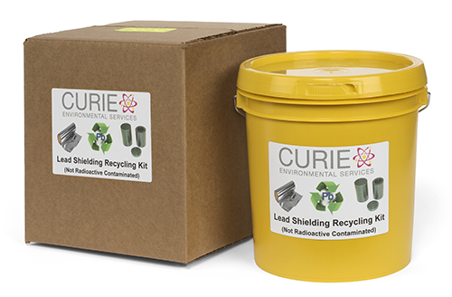 Lead Shielding Recycling Kit, 1-gallon