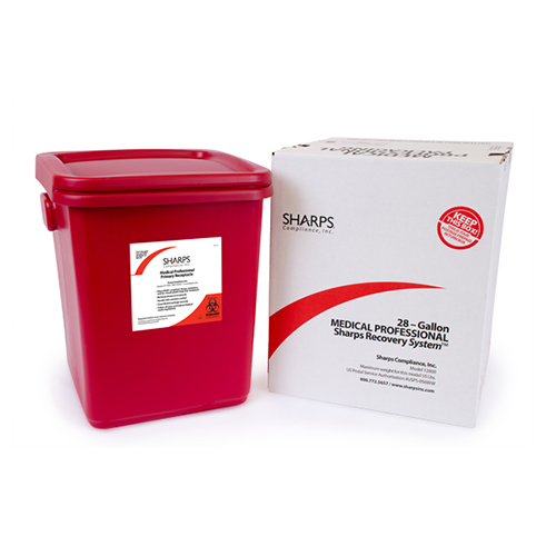 28-Gallon Sharps Recovery System