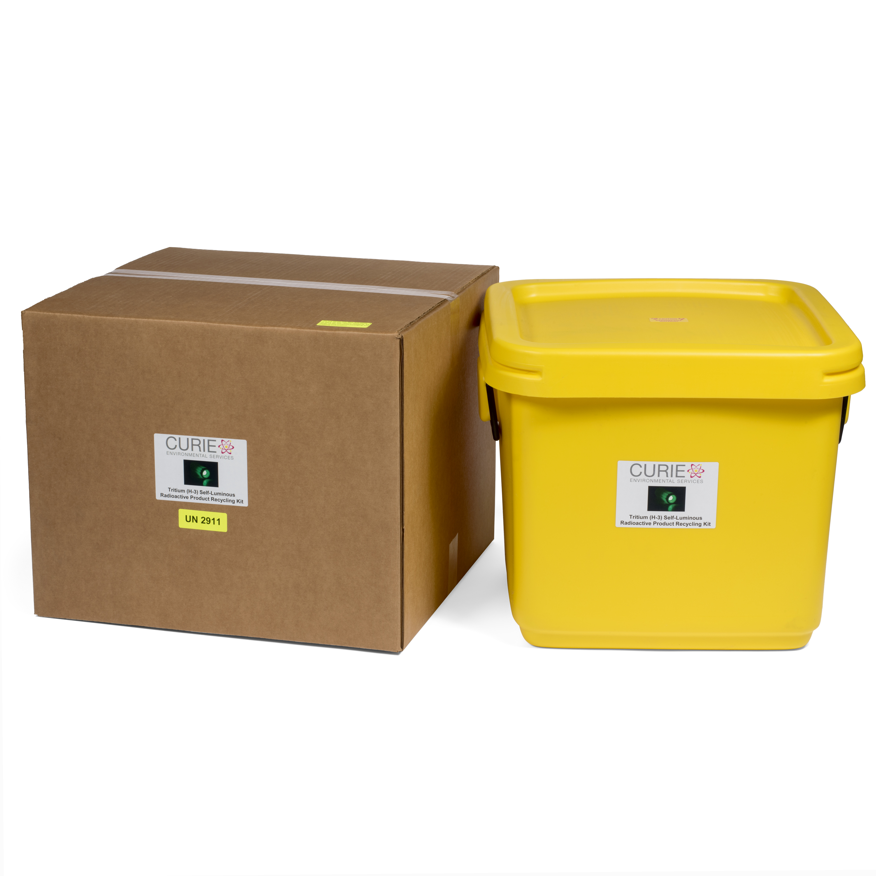 Tritium (H-3) Consumer Articles Shipping Kit - 18 gallon