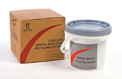 2-Gallon Dental Amalgam Recycling System