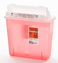 5-Quart SharpStar Containers-Red (case of 6)