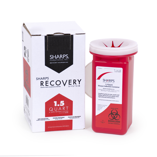 1.5-Quart Sharps Recovery System