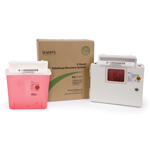 5-Quart SharpStar TakeAway Recovery System Intro-Kit-wall enclosure, one container and one system