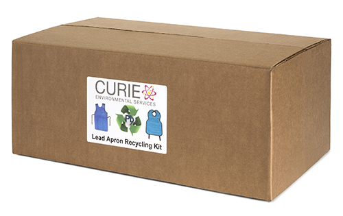 Lead Apron Recycling Kit, 2 Aprons/Box