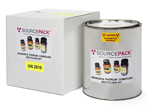 SourcePack-Uranium/Thorium Chemical Compound Recycling Kit (DOT Class 7)