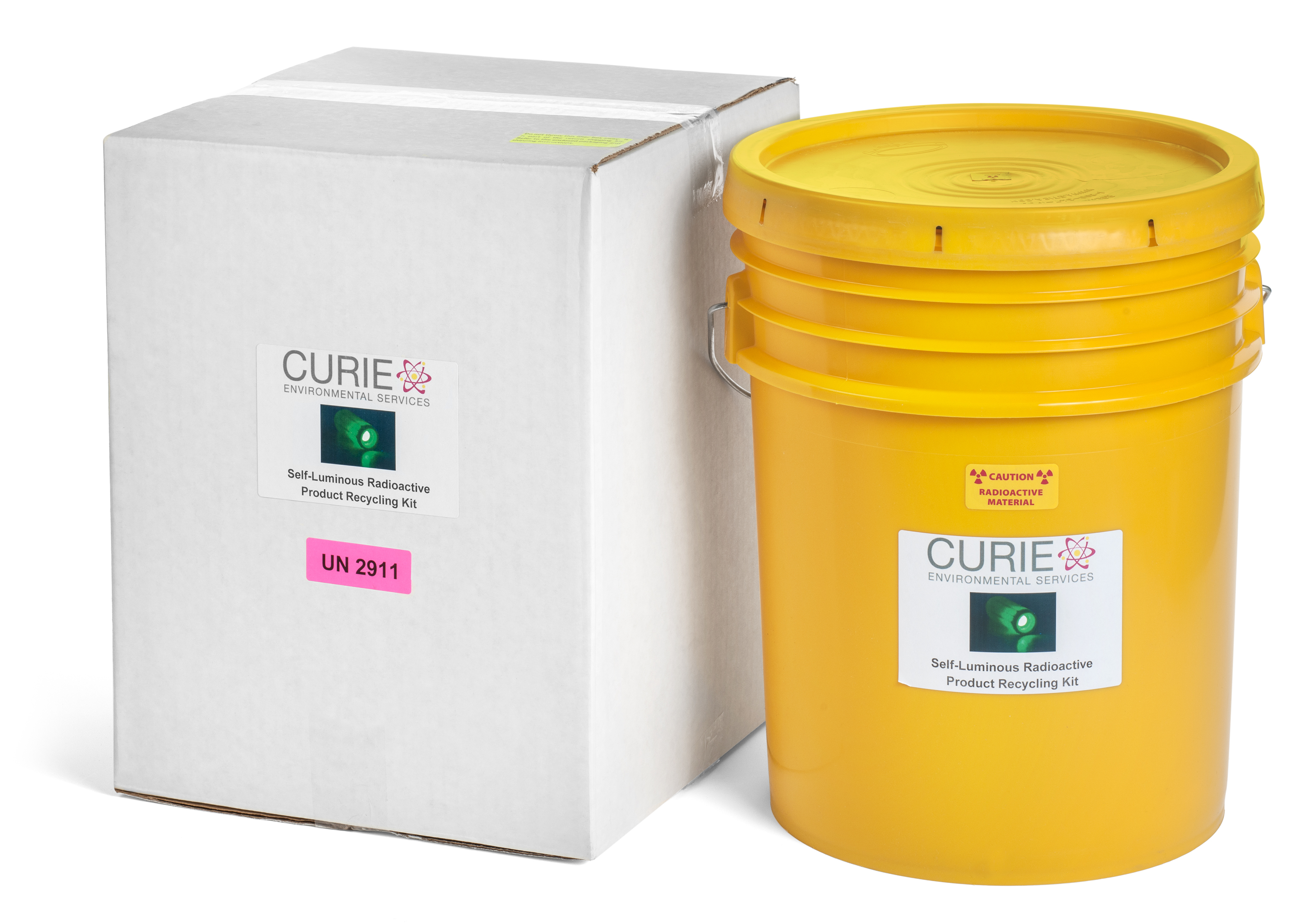 Tritium (H-3) Consumer Articles Shipping Kit - 5 gallon