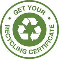 Get your recycling certificate